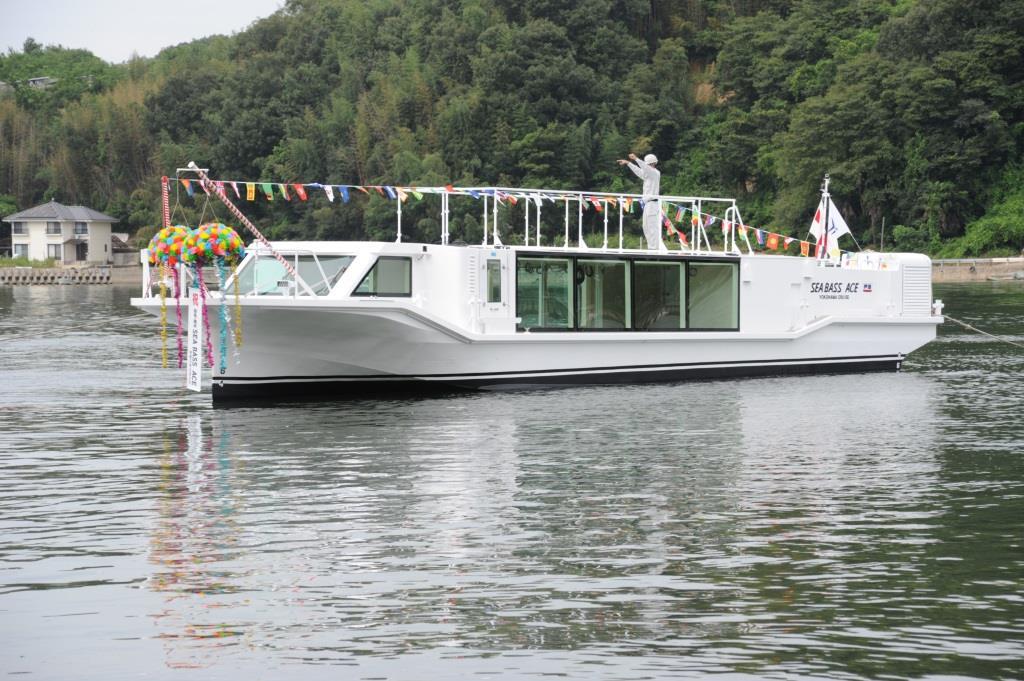 CE-141番船の命名・進水式を実施